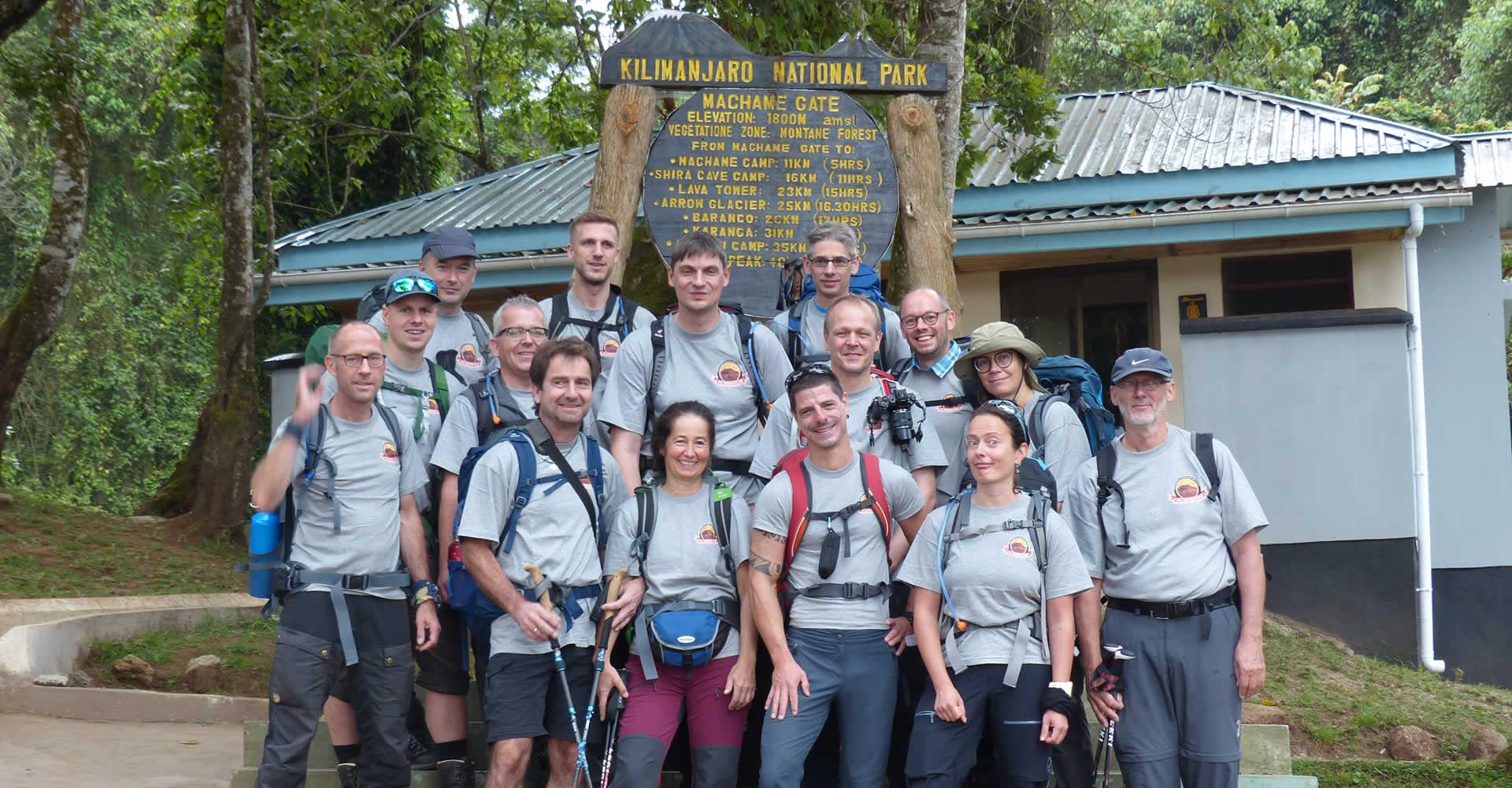 Mount Kilimanjaro Climbig Machame Route